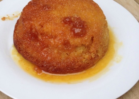 Slow cooker syrup pudding